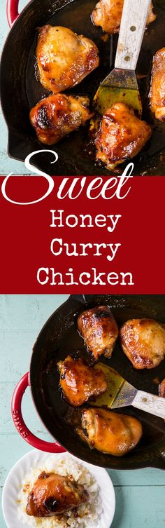 Sweet Honey Curry Chicken is the best way to introduce your family/kids to the wonderful taste of curry! This is always a hit with kids!