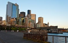 Downtown Seattle from Pier 62 by shettelbus, via Flickr