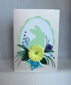 Quilling M handmade crafts and hobbies: Quilling Easter Cards - Felicitari de Paste Handmade Crafts, Diy Crafts, Paper Quilling, Easter Crafts, Diy For Kids, Origami, Projects To Try, Scrapbook, Album
