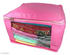 Apparel Storage Ellite Organiser  *Material* Non Woven  *Size* ( L x B x H) - 42 cm X 35 cm X 40 cm  *Description* It Has 1 Piece Of  Organiser  *Pattern* Solid  *Sizes Available* Free Size *   Catalog Rating: ★3.9 (113)  Catalog Name: Unique Elite Sarees Organisers Vol 3 CatalogID_133546 C131-SC1628 Code: 291-1089134-