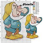 Мобильный LiveInternet 7 nani  7 гномов   Nata007 - Non solo punto croce di Natalia / Не только вышивка - Наталья  