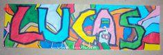 Fake Graffiti by Luana    http://lukaluluka.blogspot.com.br/2012/06/maquete-parte-i-falsa-grafitagem-dia.html