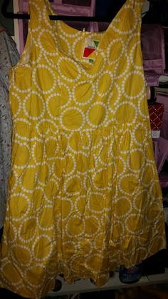 Mod-Cloth 'Air of Adorable' Dress in yellow Size 1XL Never worn. No Tags (did not come with them) $50 shipped within the USA/Canada Smoke Free/Pet Friendly Home