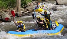 Bali White Water Rafting Ayung River