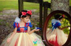 Snow White Tutu DressSnow white dress Snow white by GlitterMeBaby