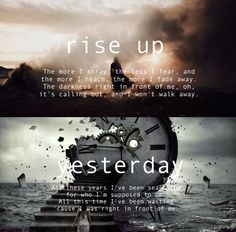Imagine Dragons rise up and yesterday