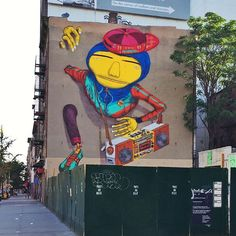 Always, some of the best street art in NYC. By every4hours | NYC Hashtags