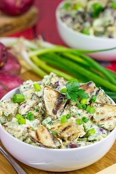 Grilled Potato Salad - Spiced