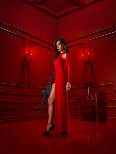 """Nikita S1 Maggie Q as """"Nikita"""""""