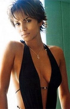 Halle Berry Short Hair Styles For African American Women Hair ~ celebrity hairstyles