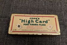 Cope's high card Tobacco tin