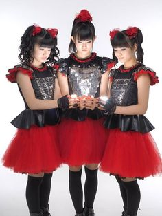 Babymetal photo by Mick Hutson