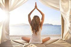 Beach Yoga!