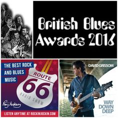 """Check out """"Route 66 Radio Show (18/09/16) British Blues Award Winners plus new Aaron Keylock & David Grissom"""" by The Route 66 Radio Show on Mixcloud"""