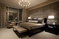 wohnideen schlafzimmer teppichboden gardinen