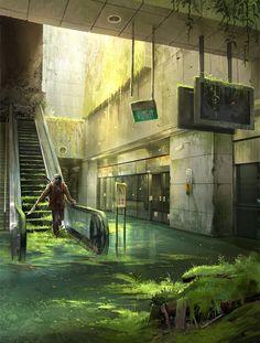 36 ideas sci fi concept art landscape post apocalyptic for 2019 - Apocalypse Now And Then Art Apocalypse, Apocalypse Aesthetic, Apocalypse Landscape, Apocalypse Movies, Concept Art Landscape, Fantasy Landscape, Landscape Art, Concept Art Sci Fi, Sci Fi Art