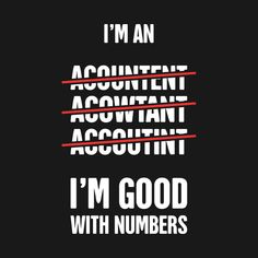 55fc59b4 Check out this awesome 'Funny Accounting T-Shirt' design on @TeePublic!