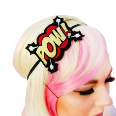Are you a comic book super hero junkie? Than my Comic Book POW geek chic headband is the perfect addition to your secret superhero girls wardrobe.  Shop link in bio ...... #comicbooks #comics #comiccon #comicgeek #comicgirl #comiclover #geekgirl #geekchic #geekfashion #nerdgirl #nerd #geek #nerdfashion #nerdchic #shopsmall #shophandmade  #accessories #superhero #womensaccessories #womensfashion #fashionblogger #buzzfeed #buzzfeedfashion #supergirl #explore #shopping #popculture