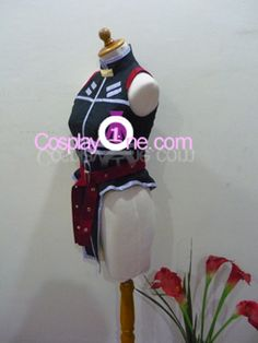 Fate Testarossa Cosplay Costume from Magical Girl Lyrical Nanoha side R by Cosplay1