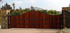 Iron Driveway Gates | ... ornamental garden estate gates wrought iron fencing gate driveway