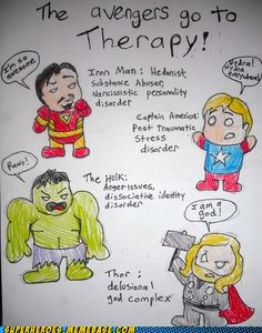 They need to go to therapy. haha But they are fine just the way they are!