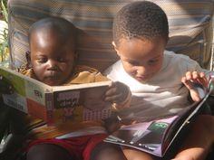 Chamazi Children Reading