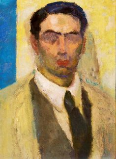 Vazquez Diaz, Daniel (1882-1969) - 1906 Self-Portrait (Private Collection)