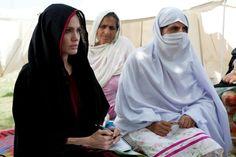 Angelina Jolie visits Pakistan