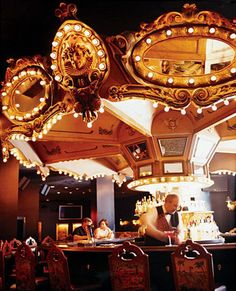The revolving Carousel Bar at the Hotel Monteleone in New Orleans
