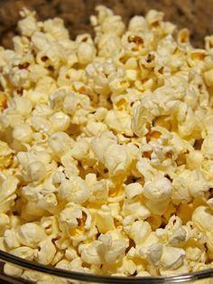 Old Bay-Spiced Popcorn. Super Bowl food ideas