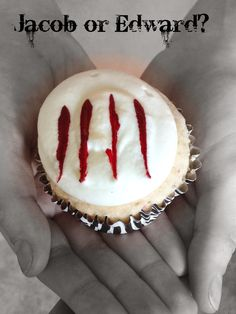 Werewolf Cupcake