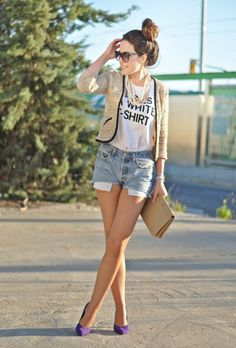 Love Shopping and Fashion Blog: This is a white T-shirt