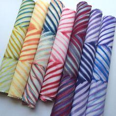 Chevron Shibori Fabric Bundle