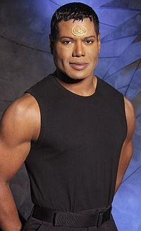 Christopher Judge (seen here as Teal'c from Stargate: SG1)