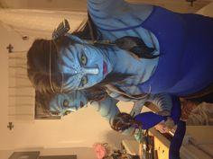 Avatar / fantasy makeup