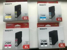 Canon Maxify 2500 XL Ink cartridge Multipack Black/Magenta/Yellow/Cyan  #Canon