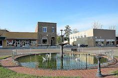 Courthouse Fountain - Elba, AL