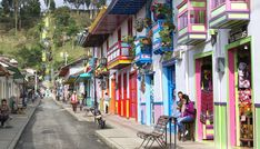Continental Hopscotch: Back to Salento, Colombia Tours, America, World, Hopscotch, Wattle And Daub, Colonial Architecture, Human Settlement, National Parks, The World
