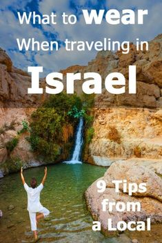 What to wear in Israel? We live in Israel, so I have a few tips for you. These tips will keep you safe - in more ways than one. Make sure you read them before coming to Israel. If you still have questions about what to wear in Israel - or any other topic Oh The Places You'll Go, Places To Travel, Travel Destinations, Places To Visit, Israel Travel, Israel Trip, Israel Tours, Egypt Travel, Travel Packing