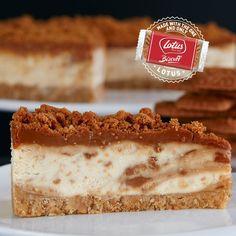Lotus Caramelised Biscoff Cheesecake - English Cheesecake Company