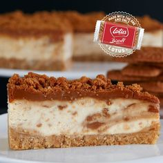 Lotus Caramelised Biscoff Cheesecake - English Cheesecake Company