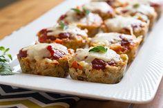 Recipe: Chicken Parmesan Meatloaf Muffins