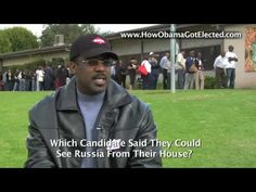 How Obama Got Elected... Interviews With Obama Voters ..WATCH THIS! can we not make the same mistake twice!