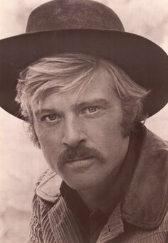 "Robert Redford in character as ""The Sundance Kid"" for ""Butch Cassidy and the Sundance Kid"", 1969"