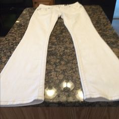 Brand new Miss Me jeans. Brand new Miss Me jeans. Mid rise boot. 32 inch inseam. Smoke free home. Next day shipping. Beautiful white Miss Me's in perfect condition! Price is FIRM on this item unless bundled. Miss Me Jeans
