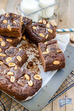 Brownie ze snickersem