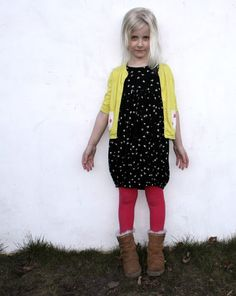 Sunshine Dress pattern created by Shauna from ShwinDesign - by groovybaby and mama