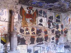 ....eines der Zimmer im Karzer in Heidelberg