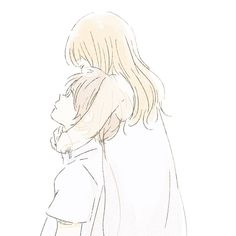 Asteria hugs Henry and tells him thank you. Cute Couple Drawings, Cute Couple Art, Cute Drawings, Manga Couple, Anime Love Couple, Cute Anime Couples, Couple Illustration, Manga Illustration, Dibujos Cute