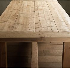 Image result for rectangle farmhouse dining table